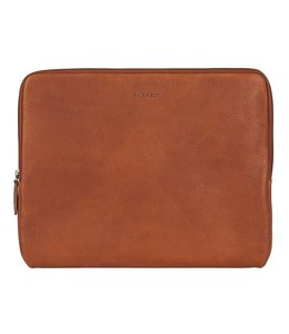 "Burkely Antique Avery 14"" laptop sleeve cognac"