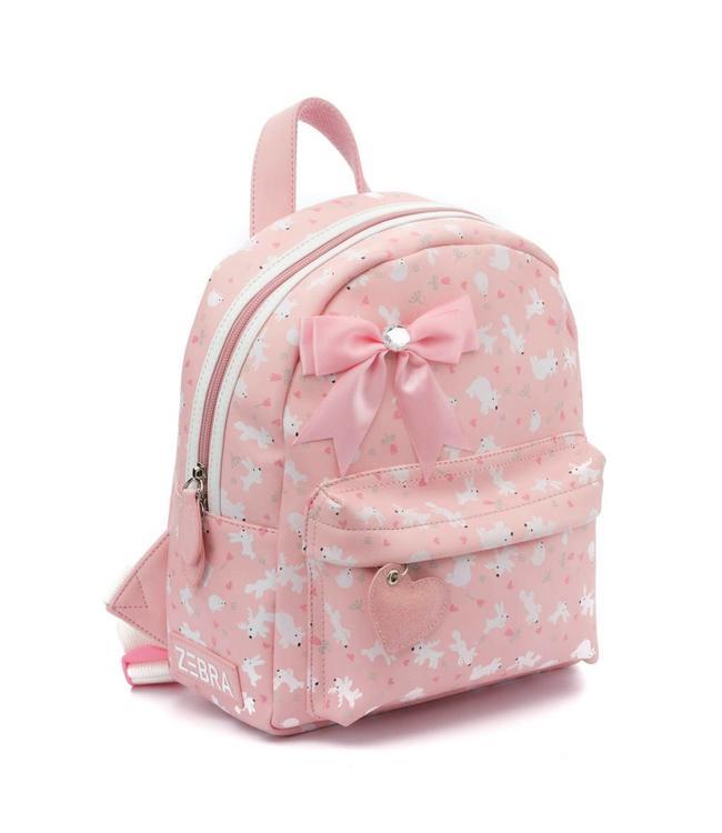 08b01f05996 Zebra trends Rugzak S forest pink-vrolijke rugtas voor meisjes - Tasenik
