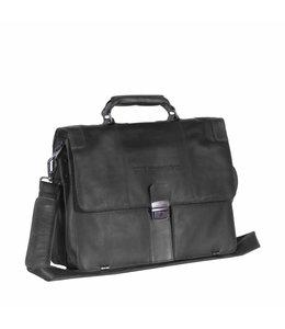 """Chesterfield Joe 15"""" business bag zwart"""