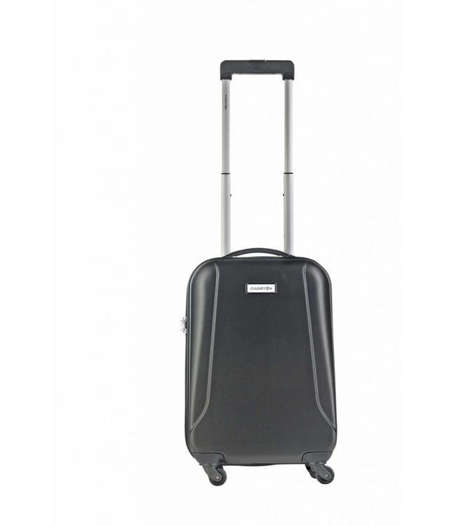 CarryOn Skyhopper 55 cm zwart-hardschalige handbagage trolley