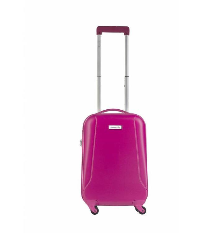 CarryOn Skyhopper 55 cm 4-wiel trolley fuchsia-handbagage koffer