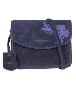 Burkely Evening embroidery x-over navy