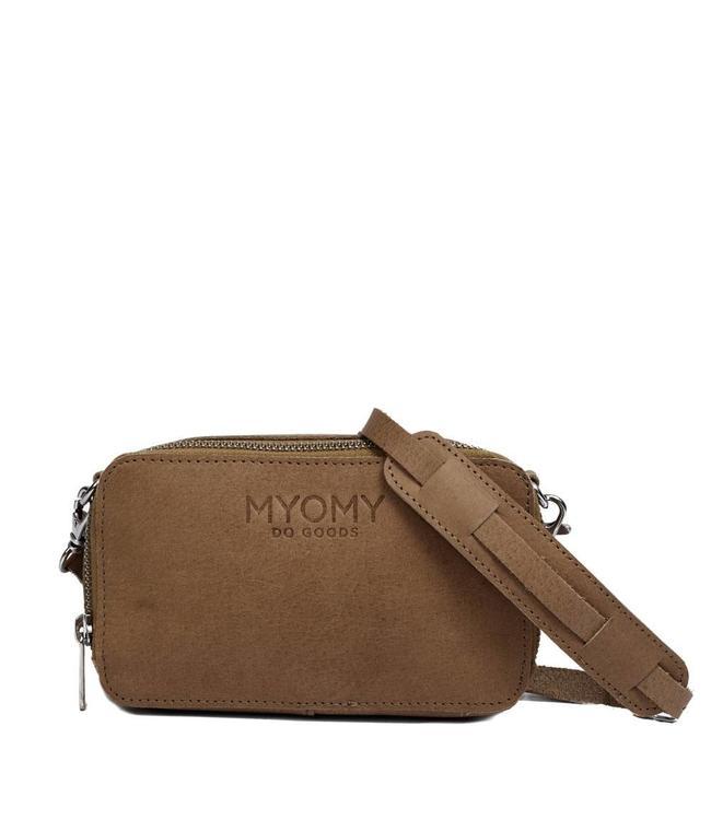 MYOMY Black Bag Boxy schoudertasje original