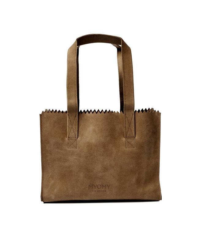 MYOMY My Paperbag Handbag hunter Original