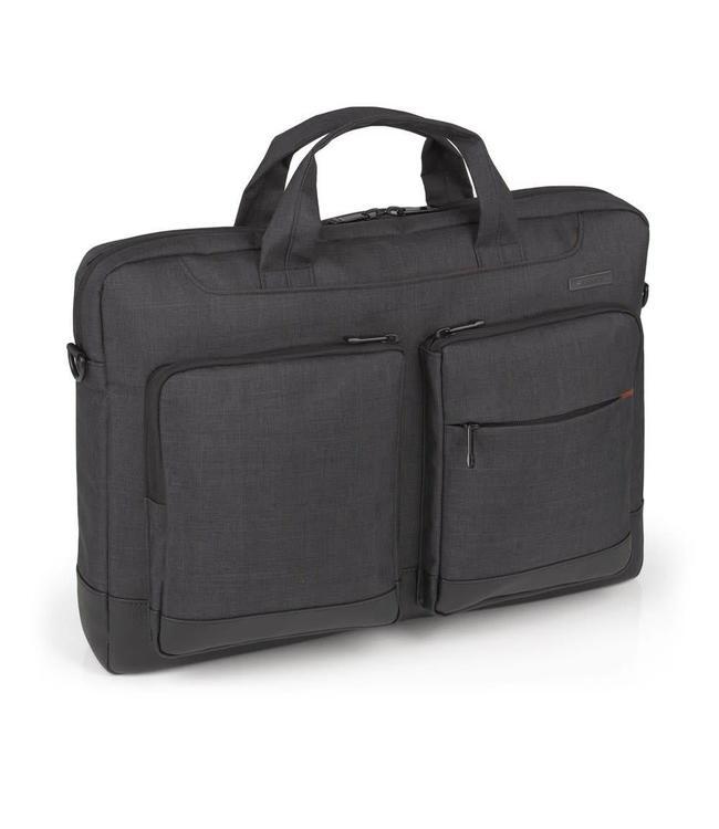 """Gabol System 17.3"""" laptoptas zwart"""