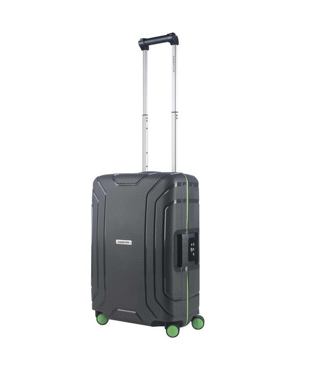 CarryOn Steward spinner 55 dark grey-cabin luggage koffer