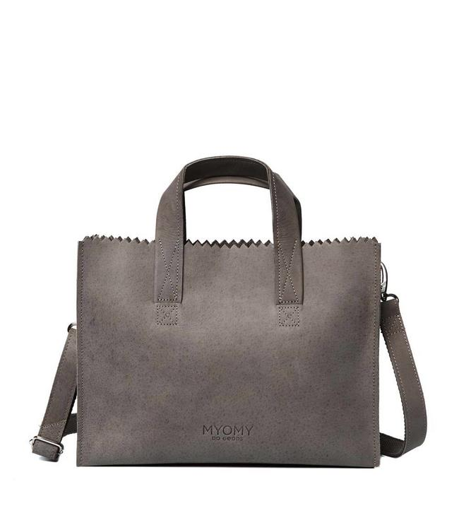 MYOMY My Paperbag Handbag cross-body hunter taupe