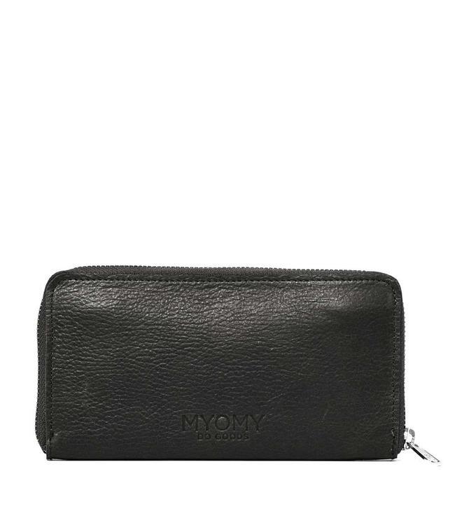 MYOMY My Paperbag Wallet rambler black