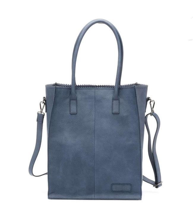 Zebra Trends Rosa Natural bag kartel jeans blue-stijlvolle shopper