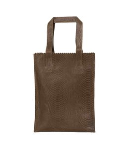 MYOMY My Paperbag Long Handle Zip anaconda taupe