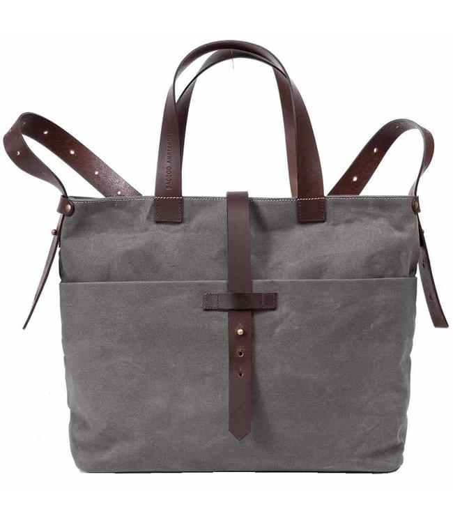 Saccoo Canvas Paris grey