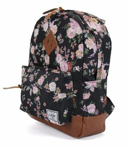 Line royal herbert little backpack pink flower