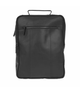 DSTRCT Riverside A4 backpack zwart