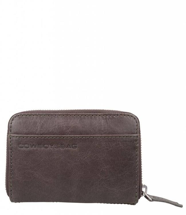 Cowboysbag Purse Haxby storm grey-compacte damesportmonnee