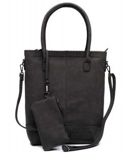 Zebra Trends Natural bag kartel xl met rits black