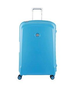 Delsey Belfort plus 76cm 4 wiel trolley teal blue