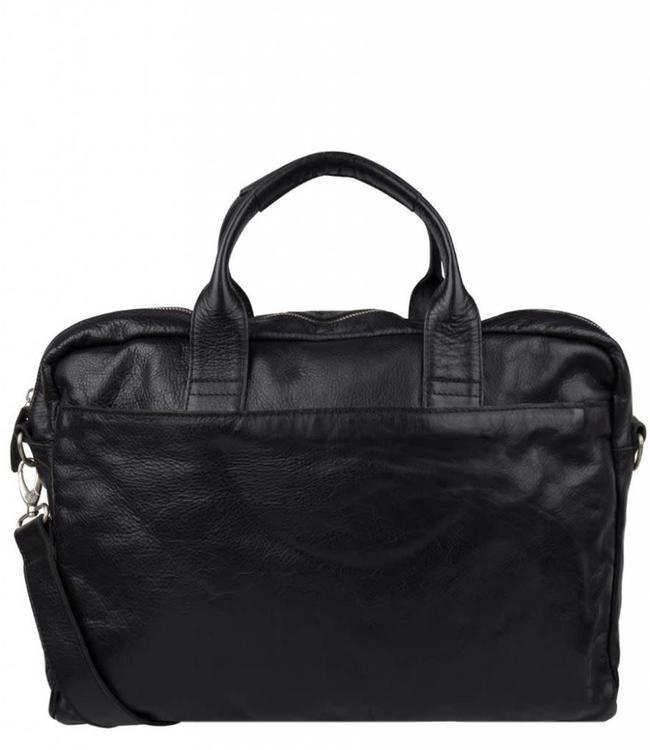 "Cowboysbag Bag Logan 15.6"" laptop zwart"