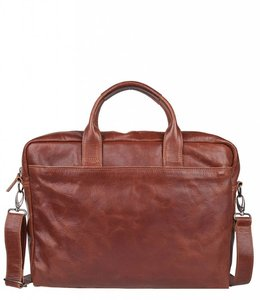 "Cowboysbag Bag Logan 15.6"" laptop cognac"