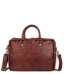 "Cowboysbag Bag Washington 15.6"" laptop cognac"