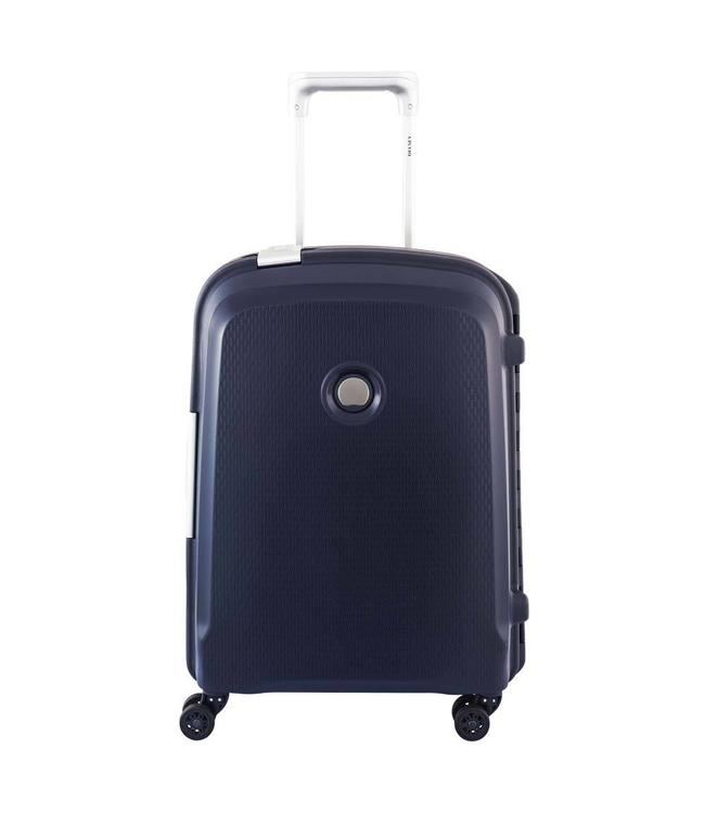 Delsey Belfort plus 55cm 4 wiel trolley blue