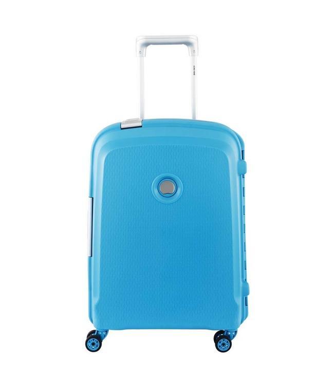 Delsey Belfort plus 55cm 4 wiel teal blue