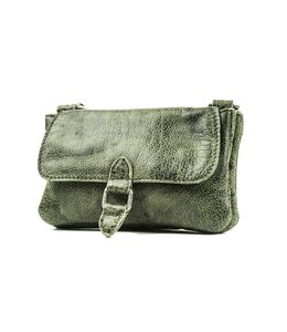 BAG2BAG Nova clutch green