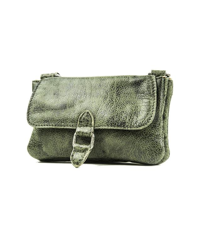 BAG2BAG Nova clutch green