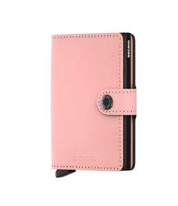 Secrid Miniwallet Matte Pink black