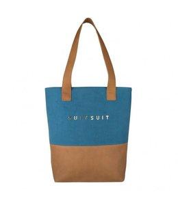 Suit Suit Fab Seventies upright bag duo seaport blue