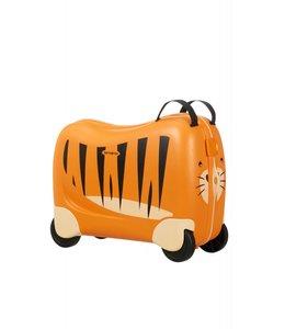 Samsonite Dreamrider kinderkoffer op 4 wielen tiger t.