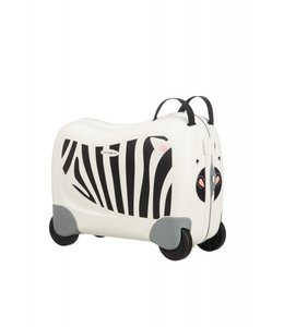 Samsonite Dreamrider kinderkoffer op 4 wielen zebra z.
