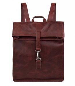 """Cowboysbag Doral Hooked backpack15"""" burgundy"""