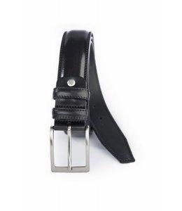 4041 luxe herenreim 35mm zwart