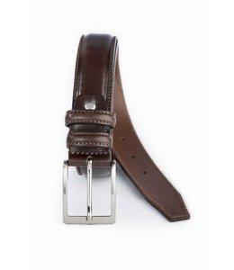 4041 luxe herenreim 35mm bruin
