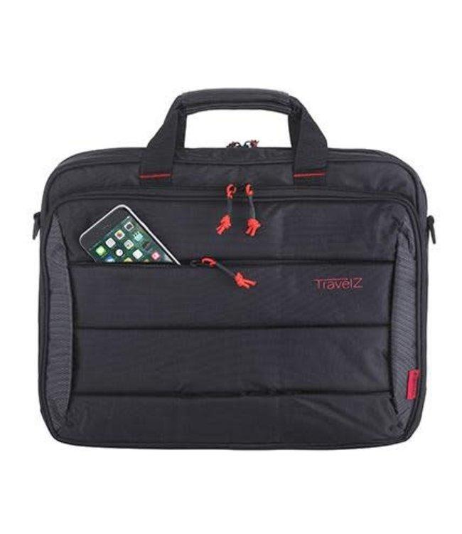 "Computerbag 17.3"" zwart"