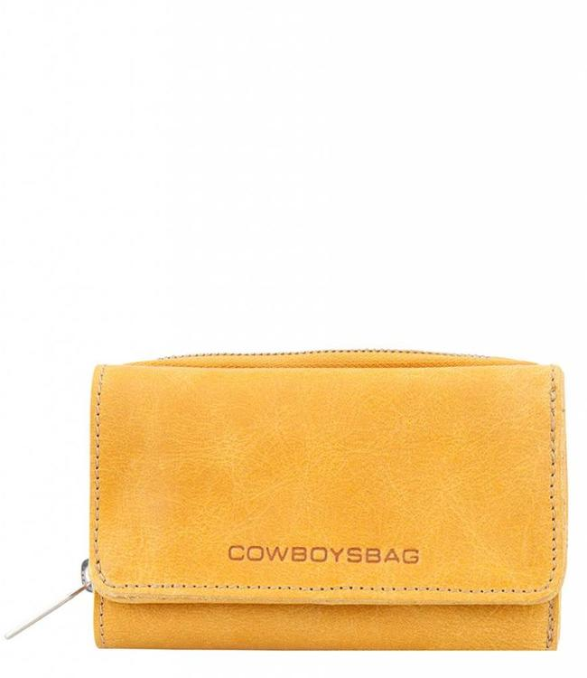 Cowboysbag Purse Warkley-leren damesportemonnee