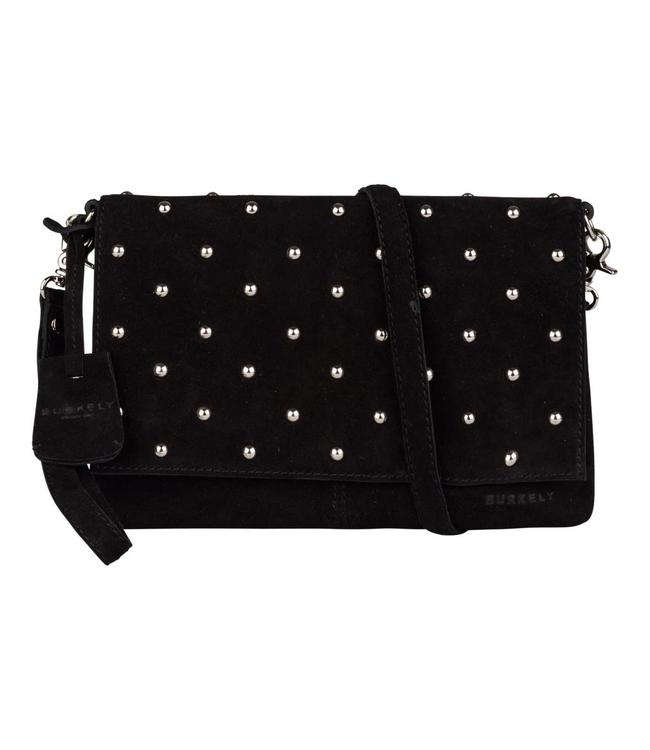 Burkely Evening clutch studs black