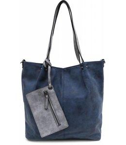 Emily & Noah 300 Bag in Bag blauw-grijs