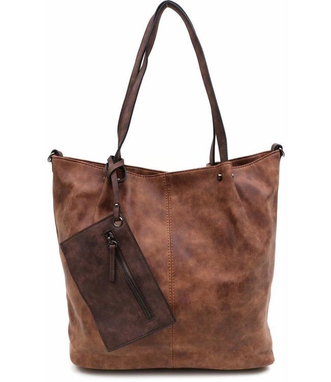 Emily & Noah 300 Bag in Bag cognac-bruin