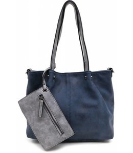 Emily & Noah 299 Bag in Bag blauw/grijs