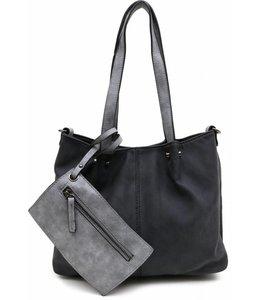 Emily & Noah 299 Bag in Bag zwart/grijs