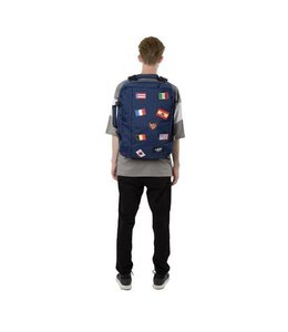 Cabin Zero Classic Flags 44L cabin backpack navy
