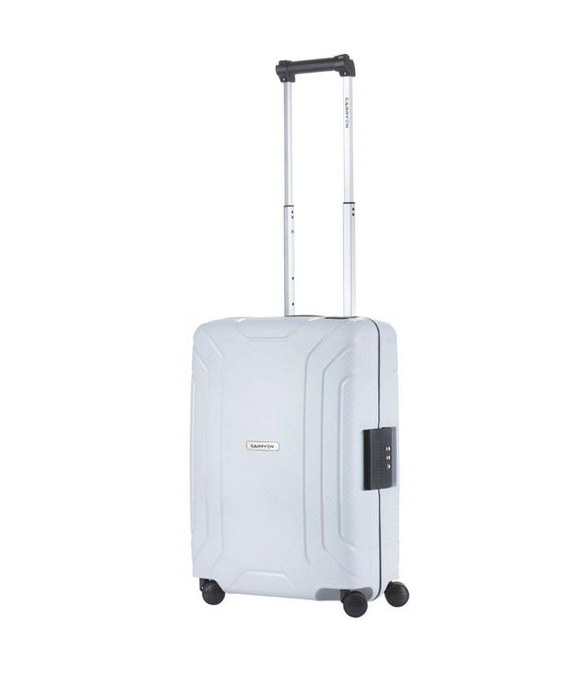 CarryOn Steward spinner 55 light grey-Handbagage koffer