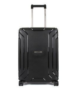 Line Hoxton 55 cm cabin luggae trolley black red