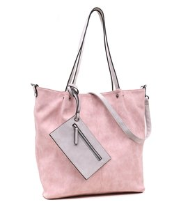 Emily & Noah 299 Bag in Bag rose-light grey