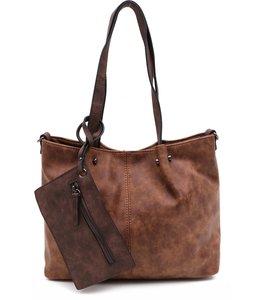 Emily & Noah 299 Bag in Bag cognac/bruin