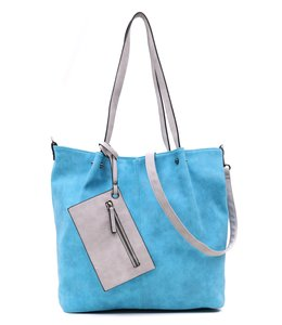 Emily & Noah 299 Bag in Bag pool-light grey