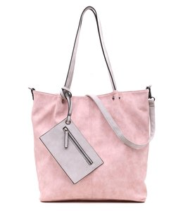 Emily & Noah 300 Bag in Bag rose-light grey