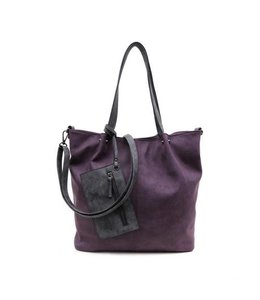 Emily & Noah 300 Bag in Bag aubergine-grey