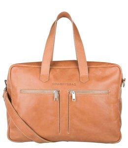 Cowboysbag Kyle 15.6 inch laptoptas camel│SALE